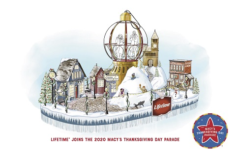 Christmas Day Parade 2020 New York Breaking News   Lifetime Joins the 94th Annual Macy's Thanksgiving