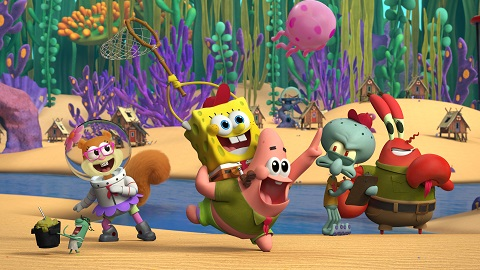 Breaking News Nickelodeon Reveals First Look Of Characters In Original Kamp Koral Spongebob S Under Years Animated Series Thefutoncritic Com